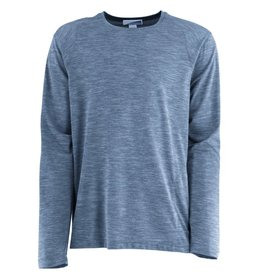 Men's Bug Free Base Camp Long Sleeve Tee, Blue Sea