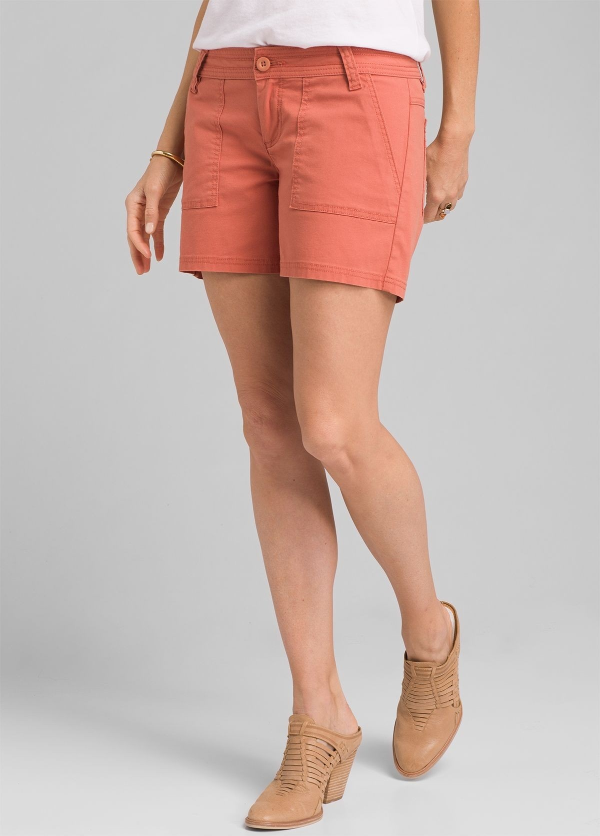 Women's Tess Short 5in, Toasted Terracotta