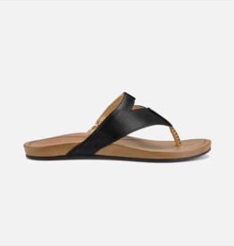 Olukai Women's Lala, Black/Tan