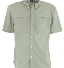 Men's Kalgoorlie Short Sleeve Shirt, Chinois Green