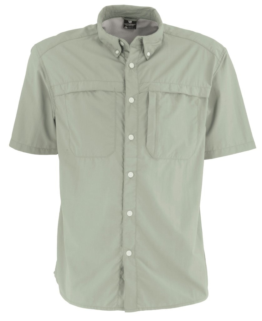 Men's Kalgoorlie Short Sleeve Shirt, Chinois Green