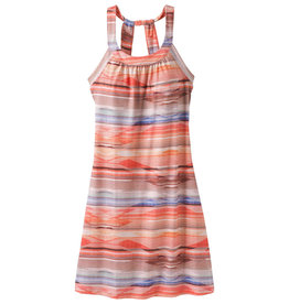 Cantine Dress, Peach Bonita