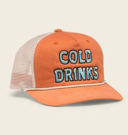 Howler Brothers Cold Drinks Snapback, Orange