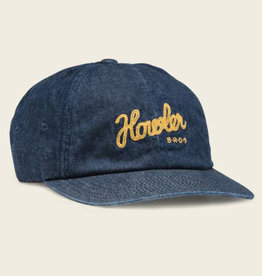 Howler Brothers Tie Down Strapback, Dark Denim