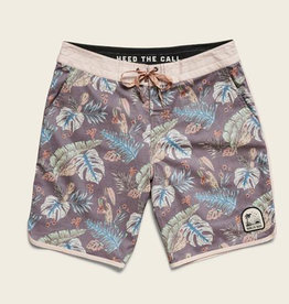Howler Brothers Stretch Bruja Boardshorts, Third Coast Print: Coffee