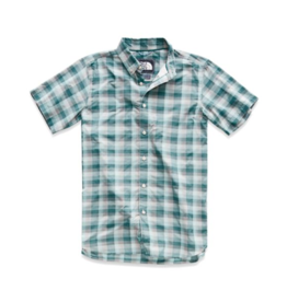 The North Face M's Monanock Shirt, Storm Blue Pluto Plaid