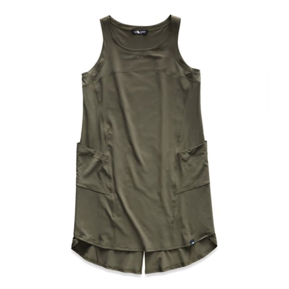 The North Face W's Dawn Break Dress, New Taupe Green