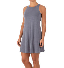 Free Fly W's Bamboo Flex Dress, Heather Denim