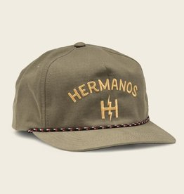 Howler Brothers Hermanos Snapback, Olive