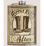 Trixie & Milo 8 oz Flask, Happily Ever After