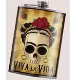 Trixie & Milo 8 oz. Flask, Viva La Vida
