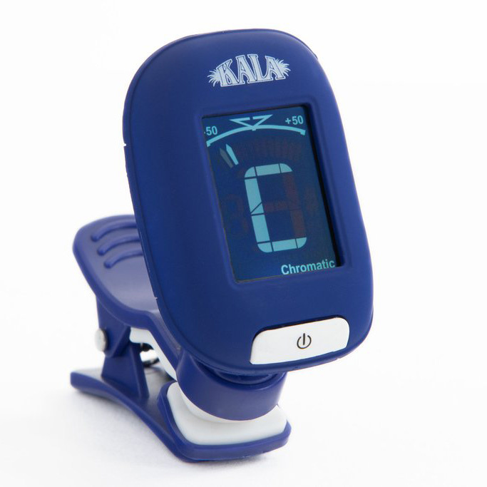 Kala Brand Kala Klipz Clip-On Tuner, Blue