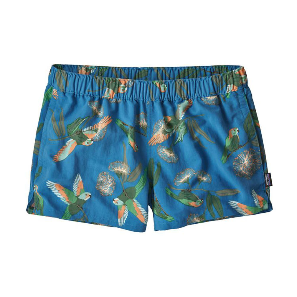 Patagonia W's Barely Baggies, Parrots: Port Blue