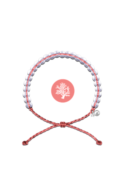 Glass Bead Bracelet, Coral Reef