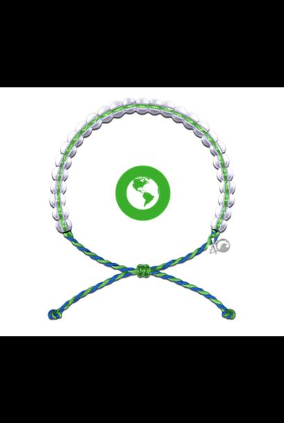 Glass Bead Bracelet Earth Day Green
