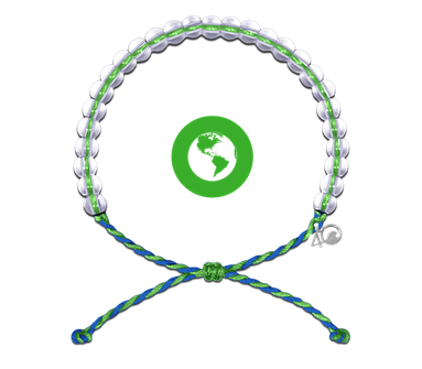 2018 Glass Bead Bracelet Earth Day Green-1