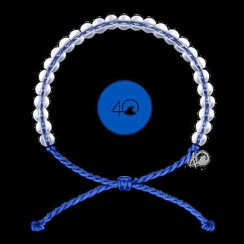 Glass Bead Bracelet Signature Blue-1