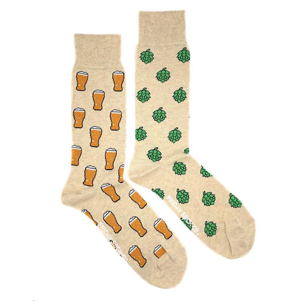 Friday Sock Company M's Beer and Hops