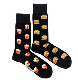 Friday Sock Company M's Burgers And Fries