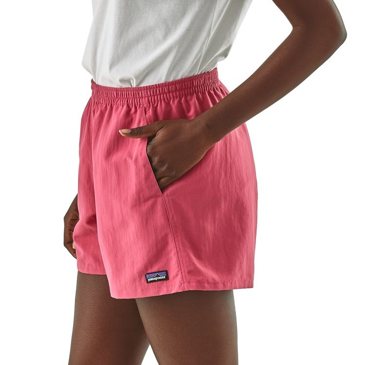 Patagonia Women's Baggies Shorts, Bluff River: Star Pink