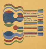 Life is Good M Cool Tee Music Is What, Bajo Yellow