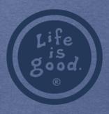 Life is Good M Vintage Crusher LIG Vintage Coin, Heather Vintage Blue