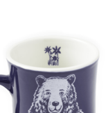 Life is Good Diner Mug Mama Bear, Darkest Blue