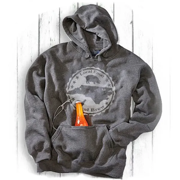 S.L. Revival Co. Local Food/Brew Tailgate Hoodie, Charcoal