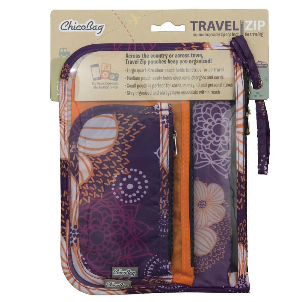 ChicoBag Travel Zip, Flourish