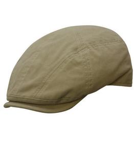 BC Hats West Palm Organic Cotton Newsboy W/Stitching, Khaki