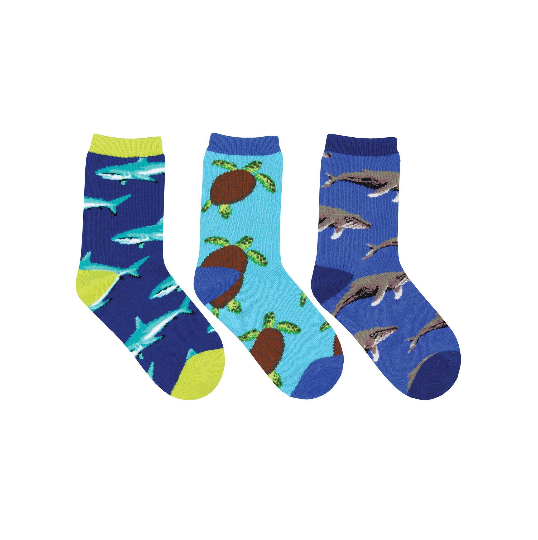 Socksmith Kid's Little Swimmers 3 Pack