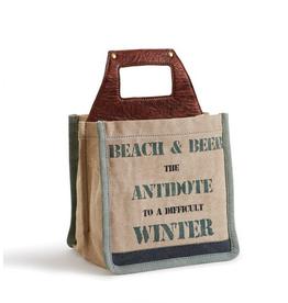 Just Beachy Beer Caddie