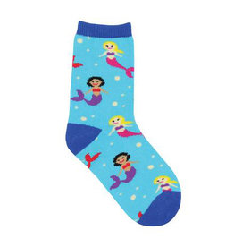 Socksmith Kid's Mermaid You Look, Blue Lagoon