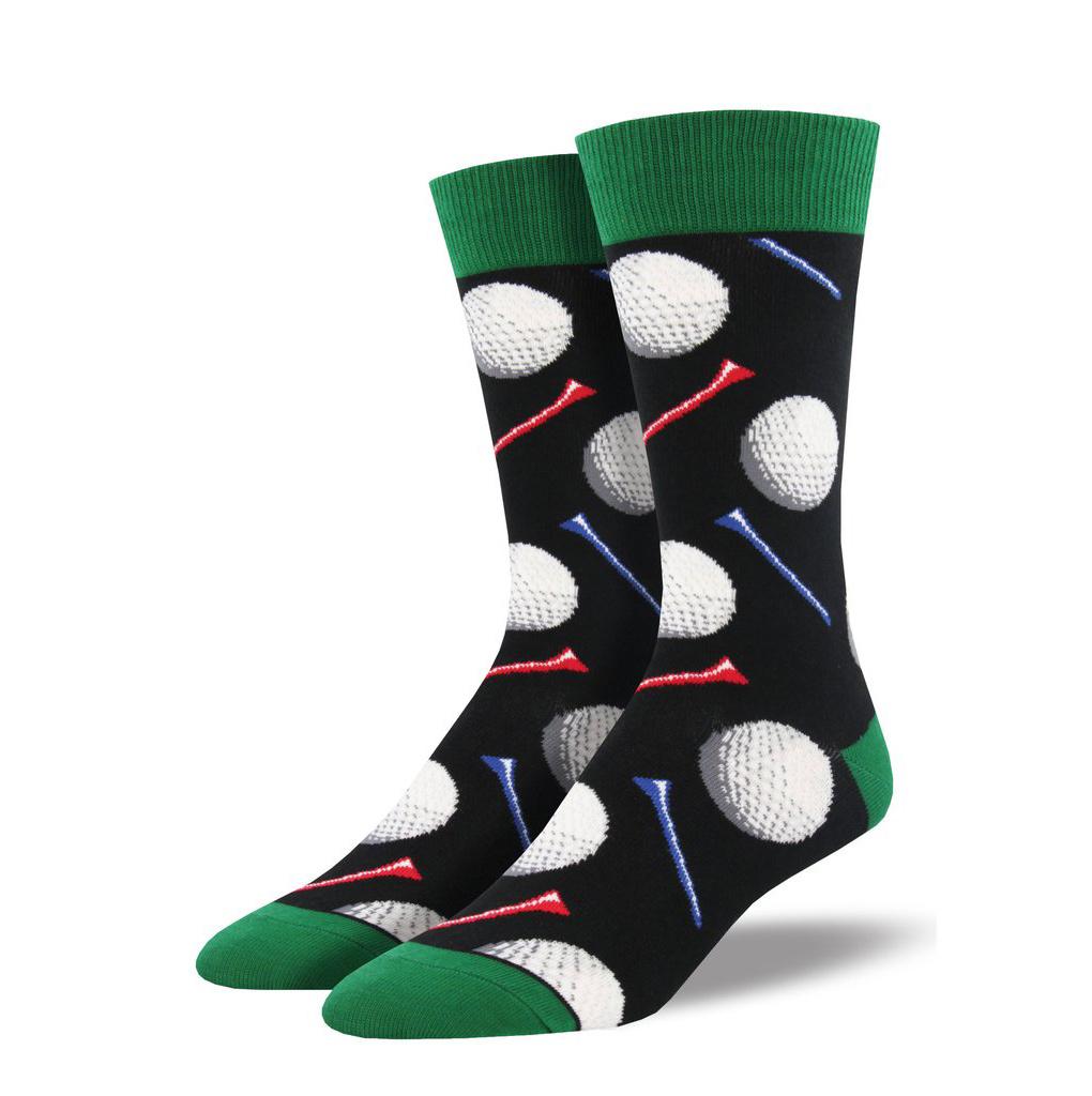 Socksmith M's Tee It Up, Black