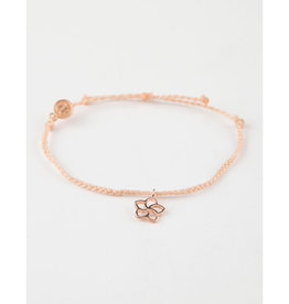 Puravida Rose Gold Plumeria Braid, Blush