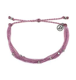 Puravida Silver Malibu Bracelet, Lavender