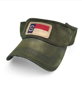 S.L. Revival Co. North Carolina Visor, Green