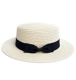 Ladies Fedora, Straw