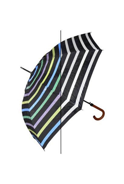 Color Changing Umbrella, Stripe