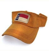S.L. Revival Co. North Carolina Visor, Mountaineer Gold