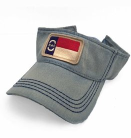 S.L. Revival Co. North Carolina Flag Visor, Americana Blue