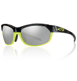 Smith Optics Pivlock Overdrive Interchangeable TLT Optics, Black Neon Yellow
