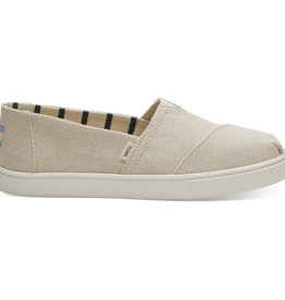 TOMS W's Alpargata Canvas Cupsole, Natural