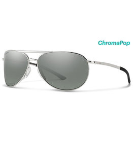 Smith Optics Serpico Slim 2 Silver Polarized Platinum/Chromapop Polarized