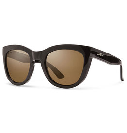 Smith Optics Sidney Black Polarized Brown/Chromapop Polarized