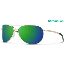 Smith Optics Serpico 2 Gold Polarized Blue Mirror/Chromapop Polarized