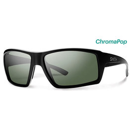 Smith Optics Challis Matte Black Polarized Gray Green/Chromapop Polarized