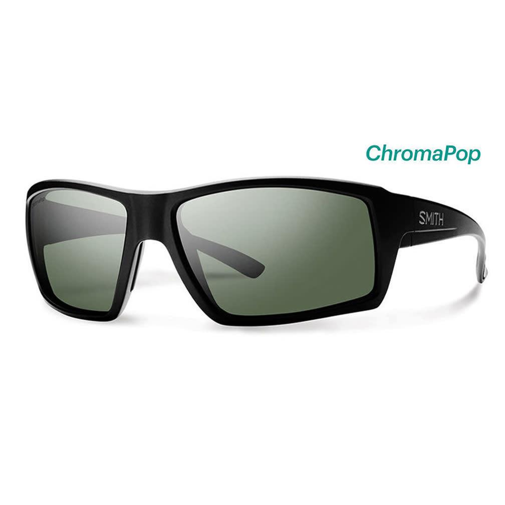 Smith Optics Challis Matte Black Polarized Gray Green/Chromapop Polarized