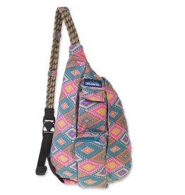 Kavu Mini Rope Bag, Rhombus Rug