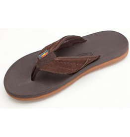 Rainbow M's East Cape Molded Rubber, Dark Brown